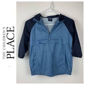 The Children's Place Blue Windbreaker Jacket Sz 4
